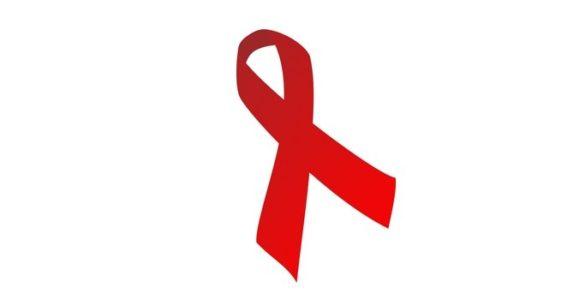 Ruban rouge contre le SIDA
