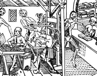 La grant danse macabre des hommes et des femmes, Lyon, Mathieu Husz, 1499).
