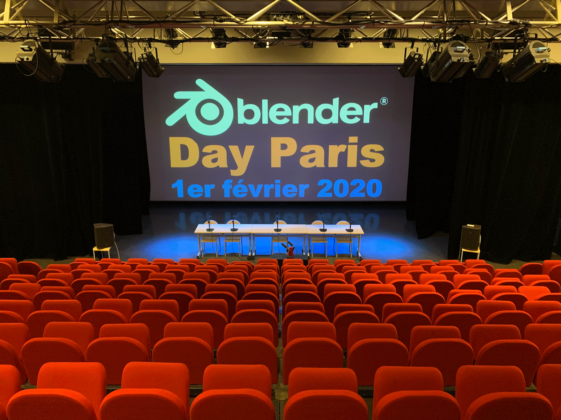 Blender Day Paris: Historique