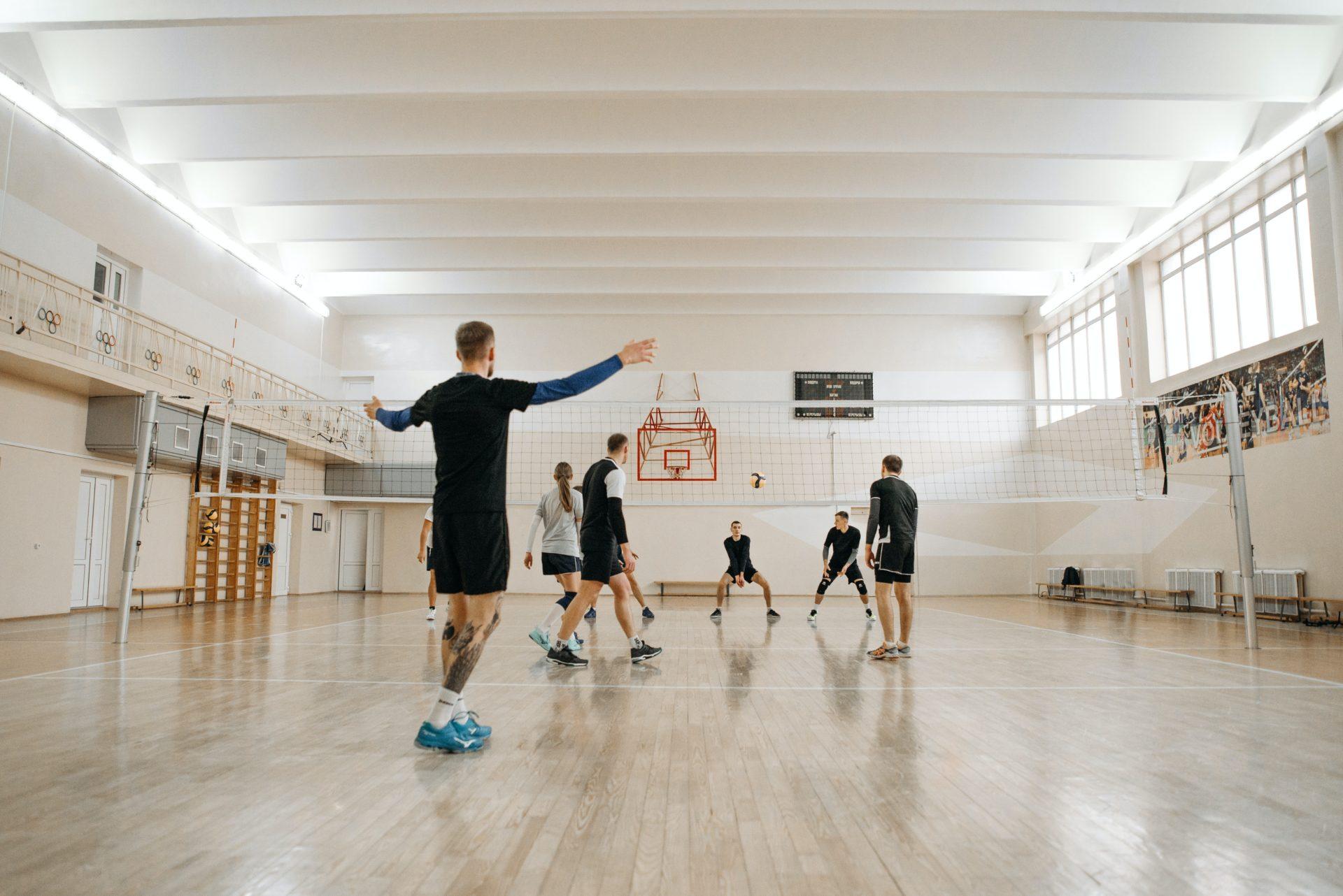 Atelier sportif volley-ball
