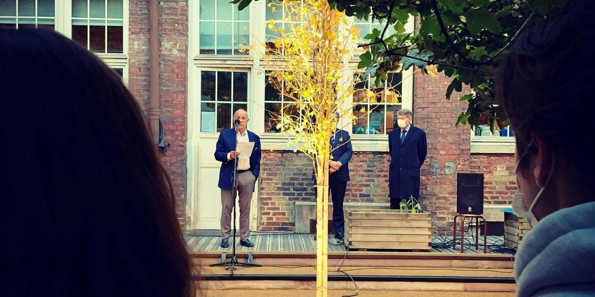 Vidéo - Inauguration de l'arbre de la liberté